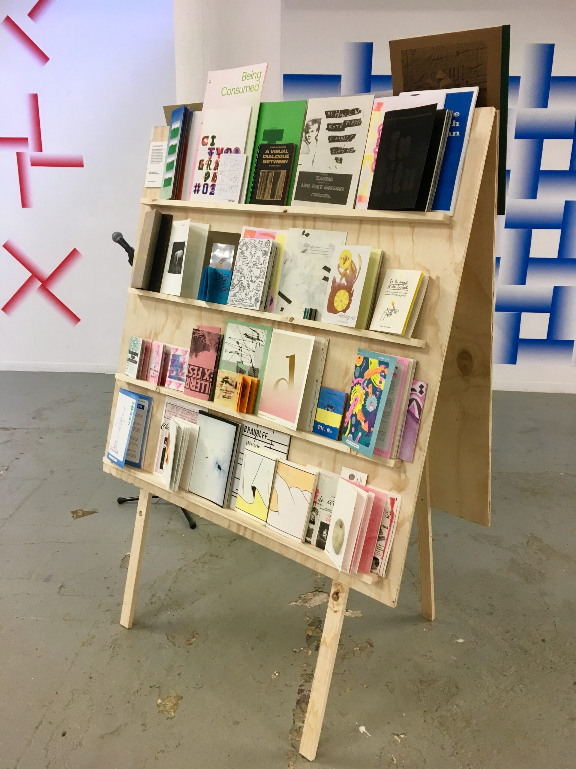 The Neighbourhood of Infinity at Riso Revolution, Quartair, The Hague - part of The Other Book Fair