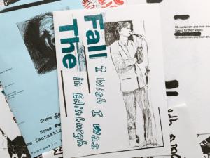 Edinburgh Man: The Fall fanzine